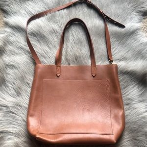 Madewell Medium Transport Tote Brown